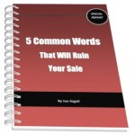 5 words that ruin sales eBook
